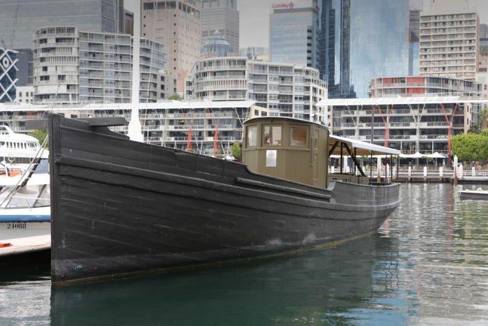MV Krait Sydney wood industries