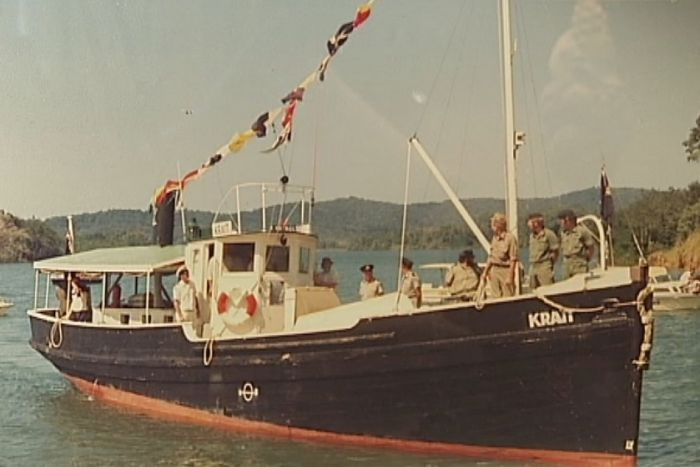 MV Krait in WW2